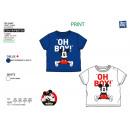 Mickey - T-Shirt Polsino corto al 100% cotone