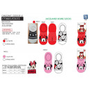 Minnie - pack of 2 socks 80% nyl18% polyester
