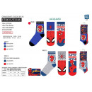 Spiderman - pack of 3 socks 70% cotton 18% poly