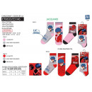LADY BUG - pack of 3 socks 70% cotton 18% polye