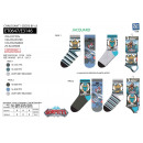 wholesale Stockings & Socks: GORMITI - pack of 3 socks 70% cotton 18% polyes