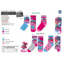 wholesale Stockings & Socks: Trolls - pack of 3 socks 70% cotton 18% polyester