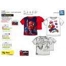 ingrosso Prodotti con Licenza (Licensing): Spiderman - T-Shirt Polsino corto al 100% cotone