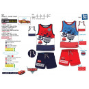 Cars - 100% tank & shorts set coton