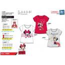Minnie - T-Shirt Polsino corto al 100% cotone