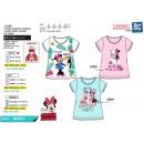 Minnie - T-Shirt 100% rövid mandzsetta pamut