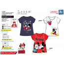 Minnie - T-Shirt 100% short cuff coton