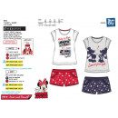 MINNIE - ensemble t-shirt manchette courtes & shor
