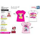 Minnie - T-Shirt 100% short cuff coton