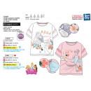 Princess - T-Shirt 100% short cuff coton