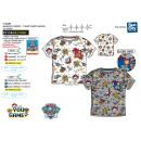 Paw Patrol - T-Shirt 100% short cuff coton