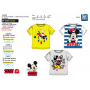 Mickey - T-Shirt 100% short cuff coton