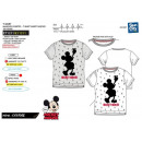 Mickey - T-Shirt kortgesneden manchet 100% co