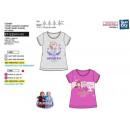 nagyker Licenc termékek: frozen - T-Shirt 100% rövid mandzsetta pamut