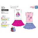 frozen - together T-Shirt short cuff & skirt