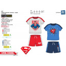 SUPERMAN - ensemble t-shirt manchette courtes & sh
