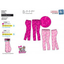 LOL SURPRISE - sublieme legging 95% polyester / 5%