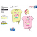 PEPPA PIG - t-shirt manchette courtes fantaisie no