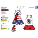 LADY BUG - 100% sleeveless dress coton
