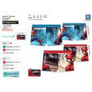 Spiderman - 85% p sublim dev / back bath boxer