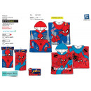 Spiderman - 100% hooded bath cape coton
