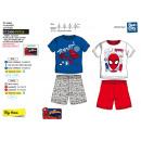Spiderman - pyjacourt T-Shirt & sh 100% katoen