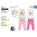 FROZEN - pyjama long t-shirt mc+pant multi comp