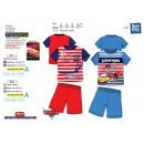 Cars - pyjacourt T-Shirt & sh 100% cotone
