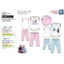 frozen - long pajamas T-Shirt mc + pant 100% coton