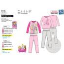 mayorista Artículos con licencia: Princess - Pijama 100% largo algodón