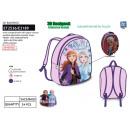 frozen - 3d backpack 30x24x8cm 100% polyester