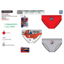 Spiderman - kit of 3 briefs 100% coton