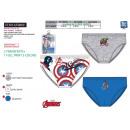wholesale Underwear: Avengers CLASSIC - kit of 3 briefs 100% coton