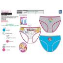 wholesale Underwear: Princess - box of 3 panties 100% coton