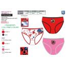 LADY BUG - box of 3 panties 100% coton