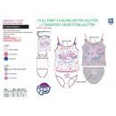 wholesale Underwear: My Little Pony - 100% tank & panty set