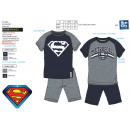 Superman - Pyjacourt T-Shirt & sh 100% Baumwol