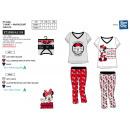 MINNIE - pyjama long t-shirt mc+pant multi comp
