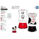 Mickey - Pyjacourt T-Shirt & sh 100% Baumwolle