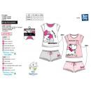 MARIE - pyjacourt t-shirt & sh frou frou 100%