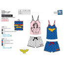 WONDER WOMAN - deb & sh Pyjama drucken 100% c