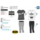 Batman - pigiama lungo T-Shirt mc + pant multi com