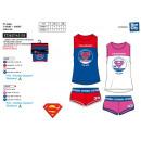 Superman - Pyjacourt T-Shirt & sh 100% Baumwol