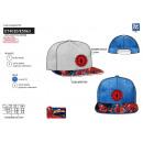 Spiderman - 100% sublime visor cap