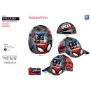 SPIDERMAN - casquette sublimee 100% polyester