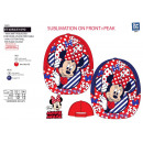 MINNIE - casquette sublimee 100% polyester / 100%