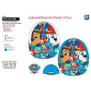 PAW PATROL - casquette sublimee 100% polyester / 1
