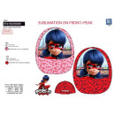 grossiste Casquette: LADY BUG - casquette sublimee 100% polyester