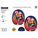 Fireman Sam - 100% sublime cap polyester /