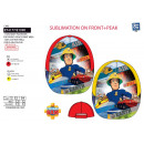 FIREMAN SAM - casquette sublimee 100% polyester /